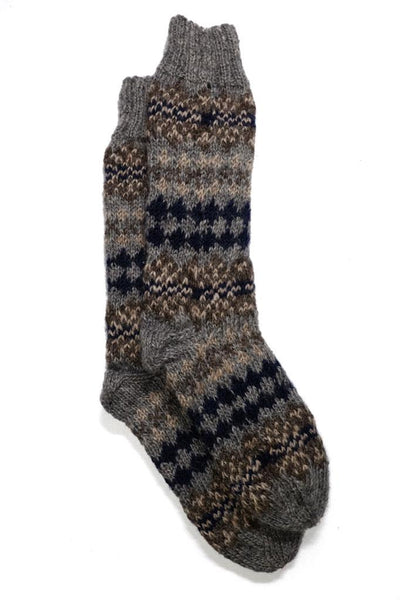 Erika Knitted Wool Socks - BIBICO