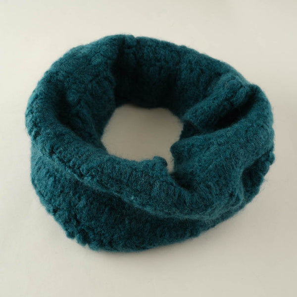erika knitted mohair snood