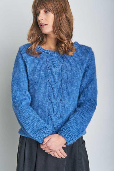 Evelyn Chunky Knit Wool Jumper - BIBICO