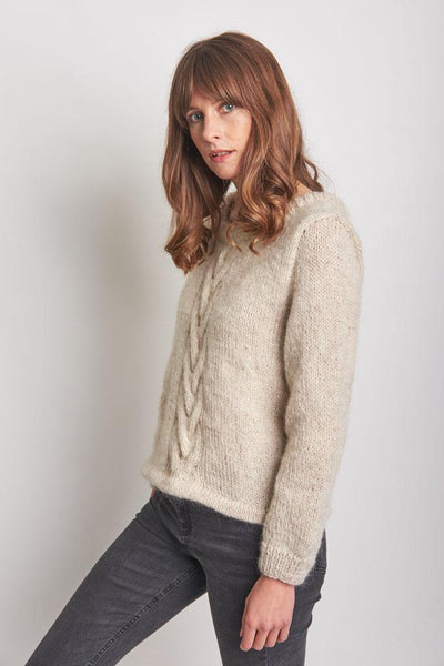 Evelyn Hand Knitted Sweater - BIBICO