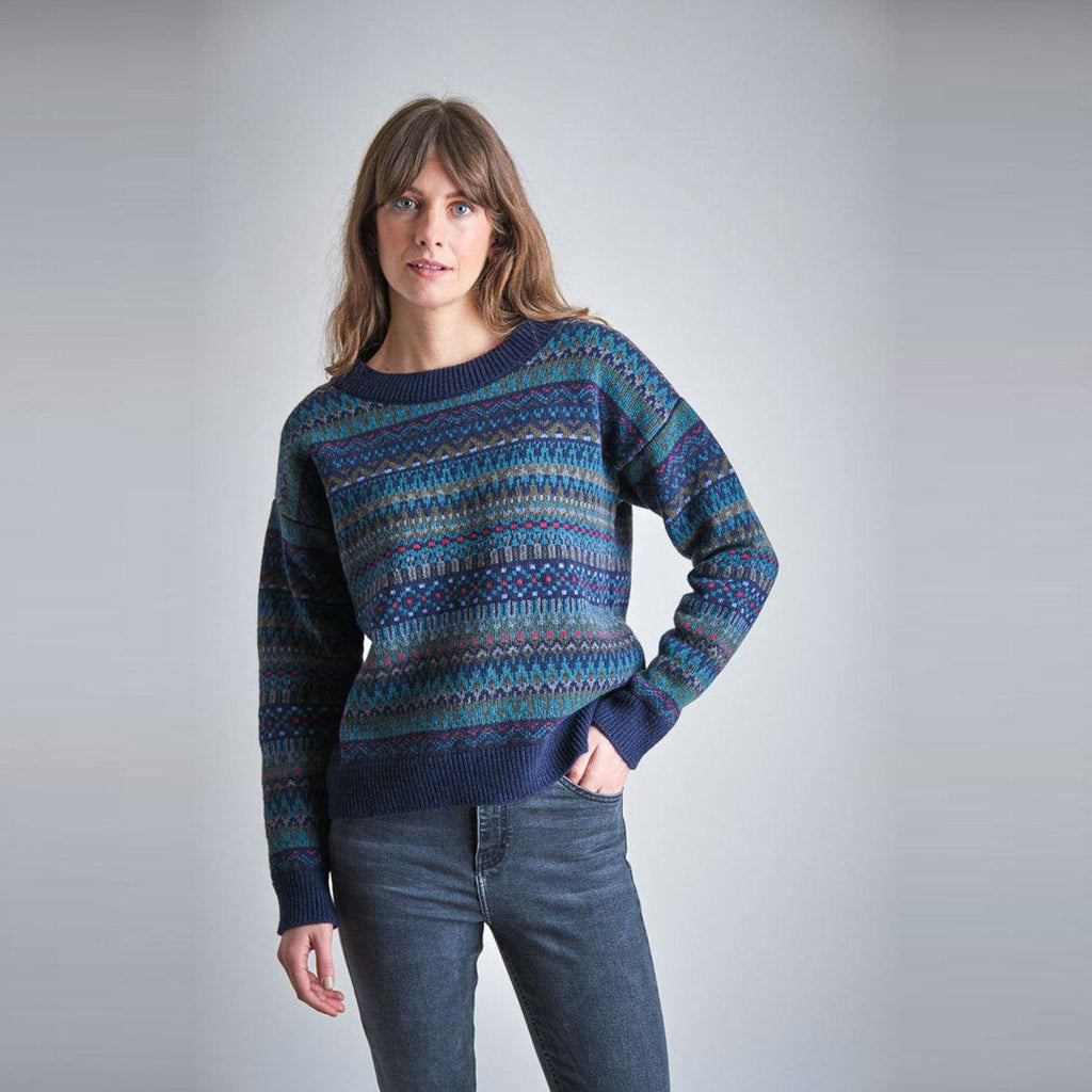 Eyre Fair isle Wool Jumper Bibico