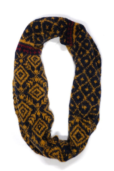 Fair Isle Mohair Snood - BIBICO