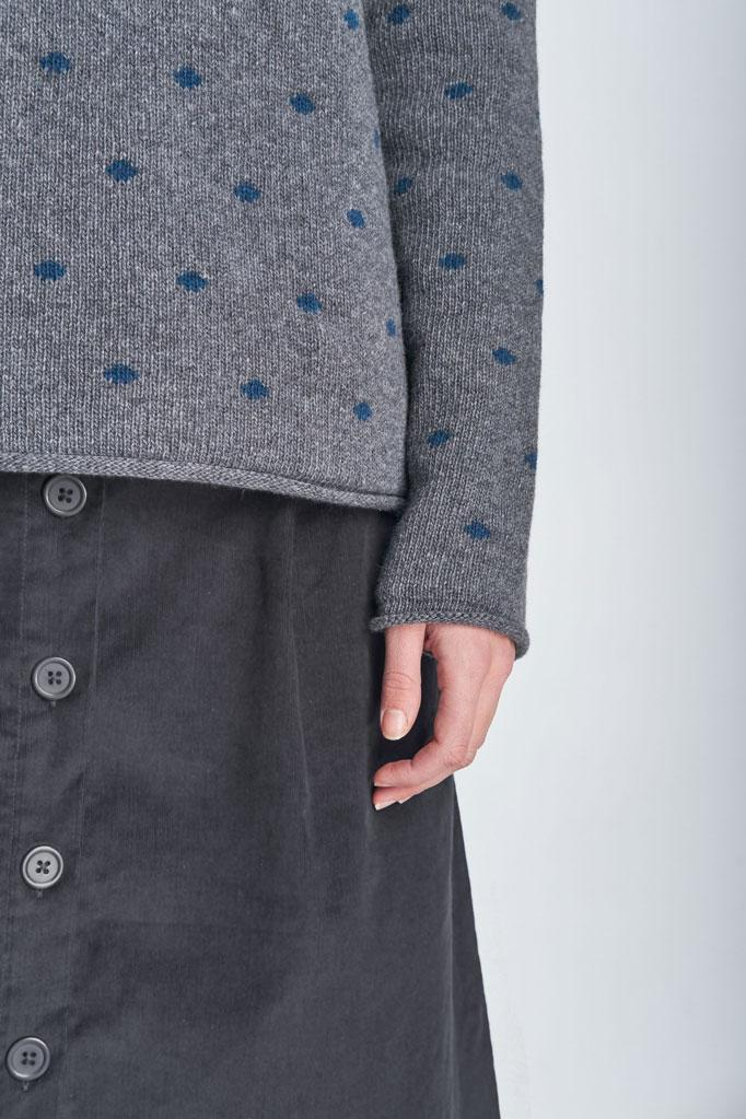 Faye Polka Dot Wool Jumper - BIBICO