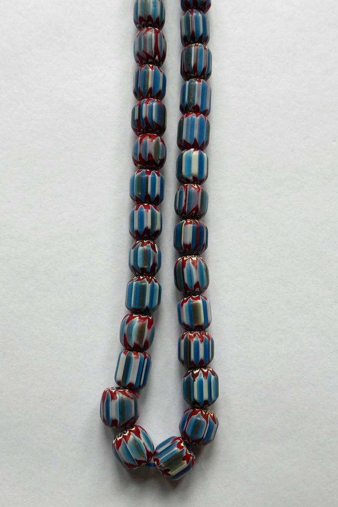 Gina Glass Bead Necklace - BIBICO