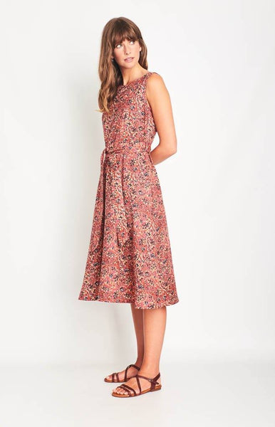 Grace Swing Sleeveless Dress - BIBICO