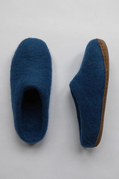 Greta Felted Wool Slippers - BIBICO