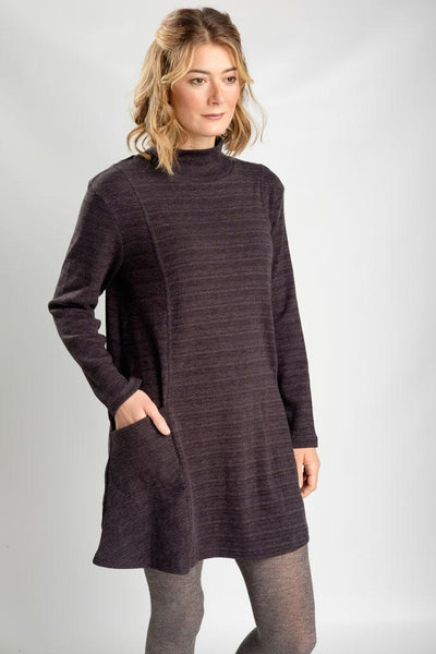 Grey Marle Loren Swing Tunic - BIBICO