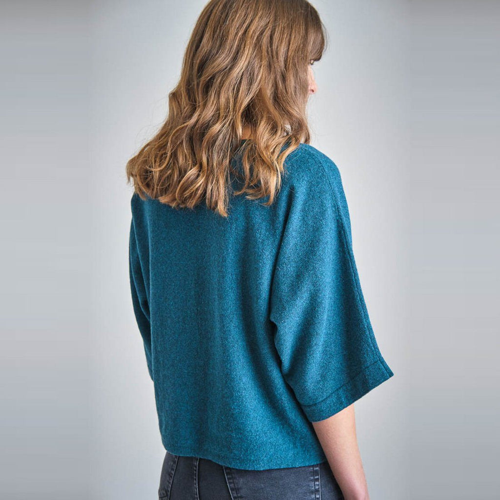 Holly Batwing Wool Jumper Bibico