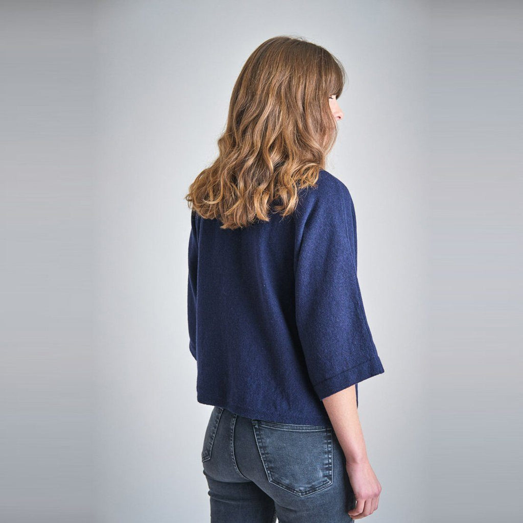 Holly Batwing Wool Sweater Bibico