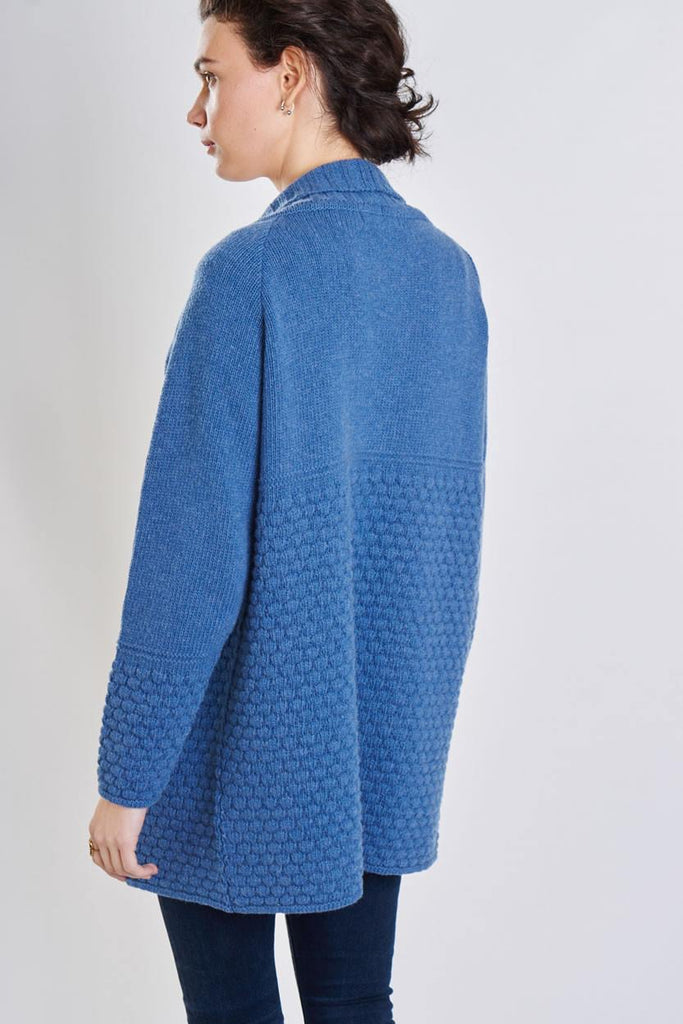 Ida Long Wool Cardigan - BIBICO