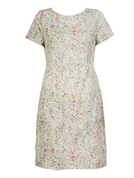Irby Floral Print Day Dress - BIBICO