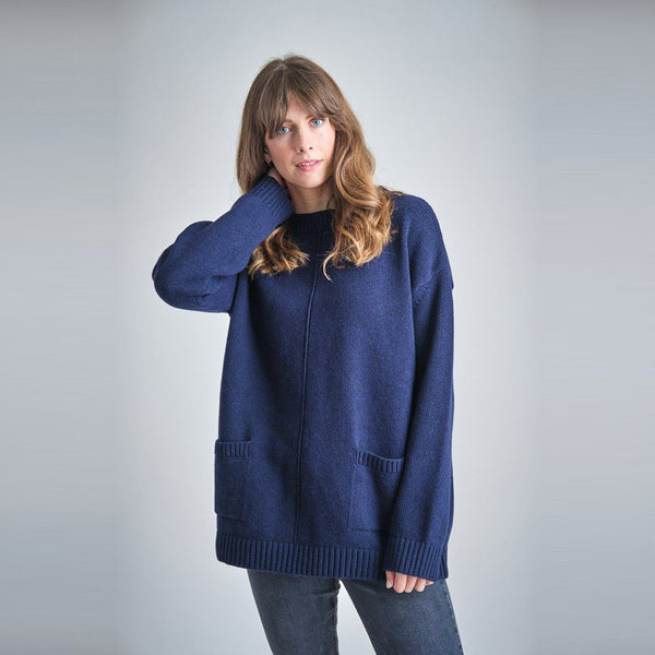Iris Oversized Wool Jumper Bibico
