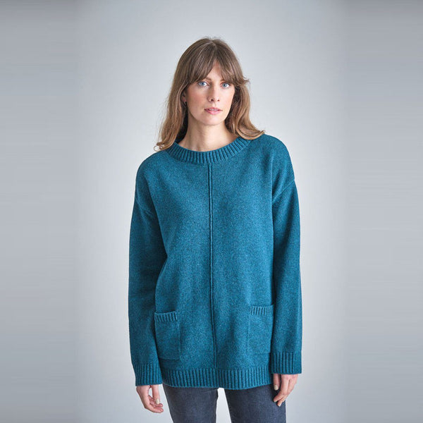 Iris Oversized Wool Sweater Bibico