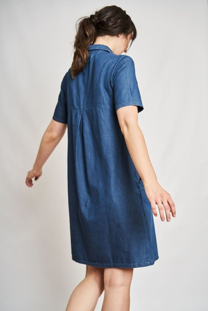 Joe Denim Smock Dress - BIBICO