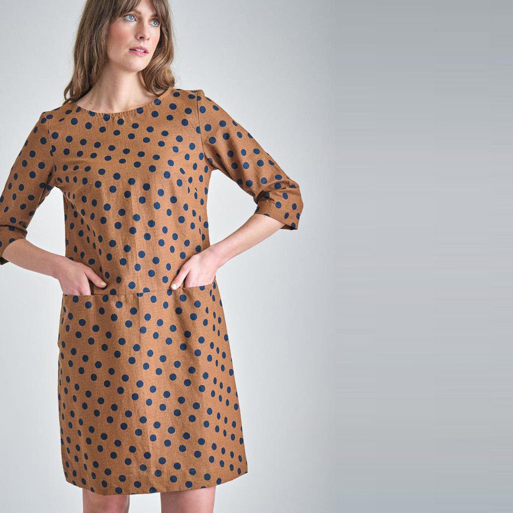 Josie  Polka Dot Tunic Dress Bibico