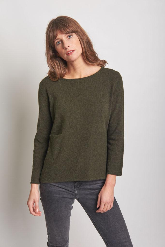 Lauren Fine Wool Sweater - BIBICO