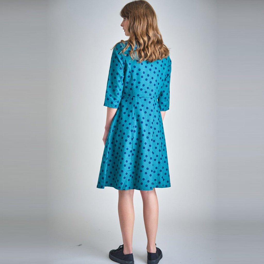 Liza Dotty Swing Dress Bibico