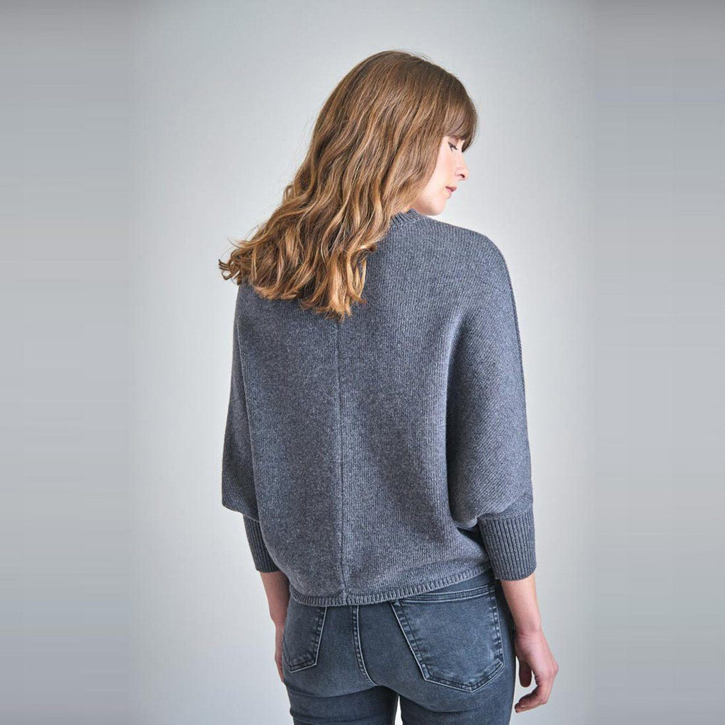 Lola Batwing Wool Sweater Bibico