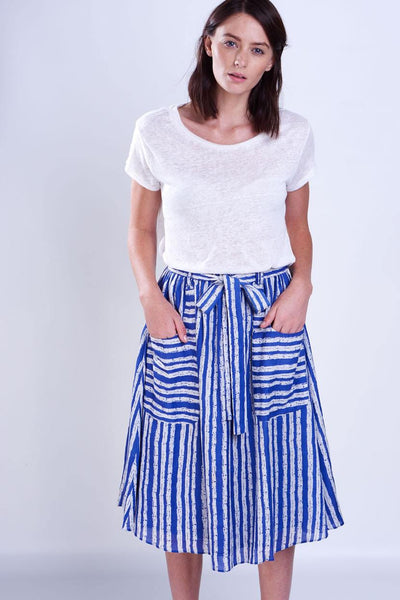 Lucia Striped Skirt - BIBICO