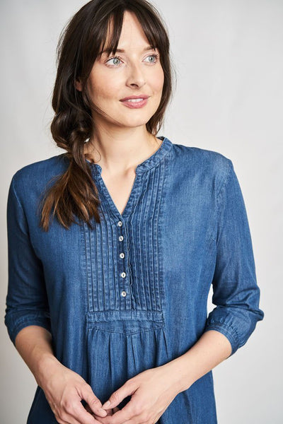Lucy Denim Tunic Dress - BIBICO