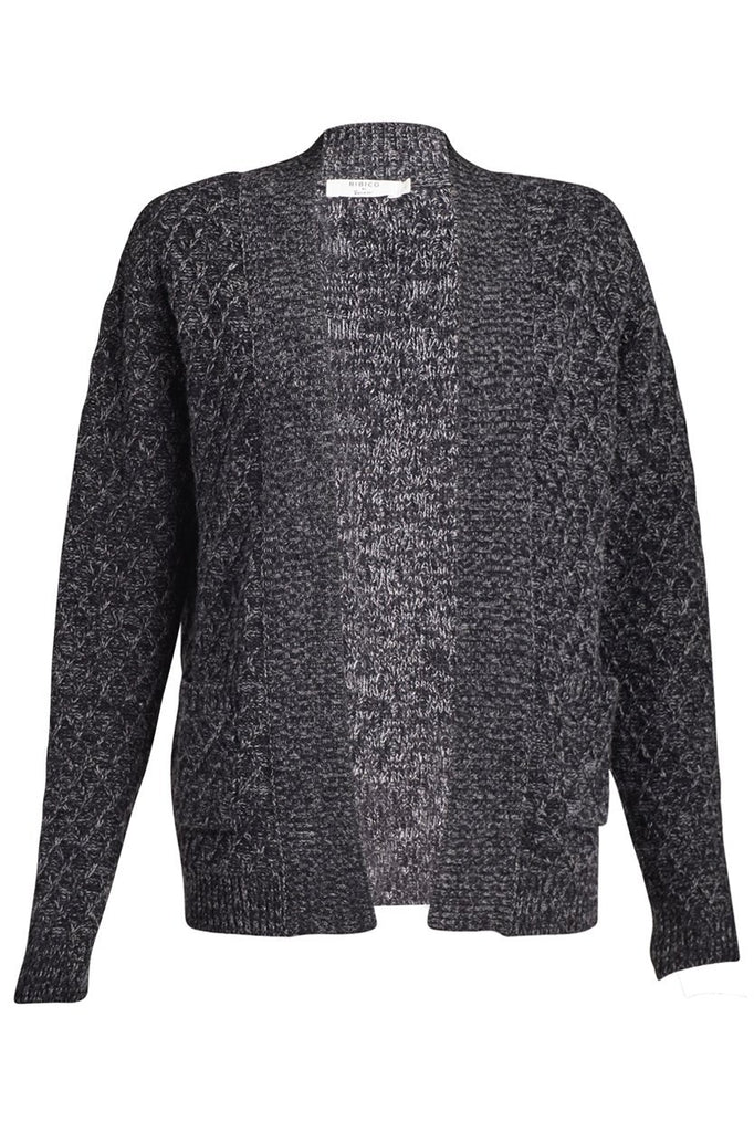 Lucy Wool Open Cardigan - BIBICO