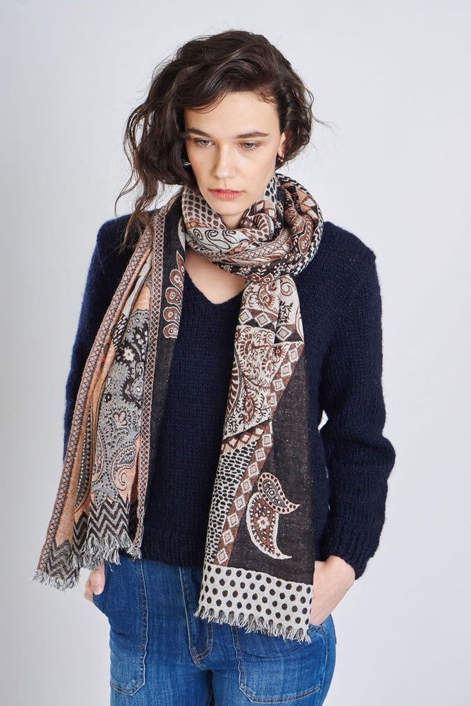 Lucy Wool Scarf - BIBICO