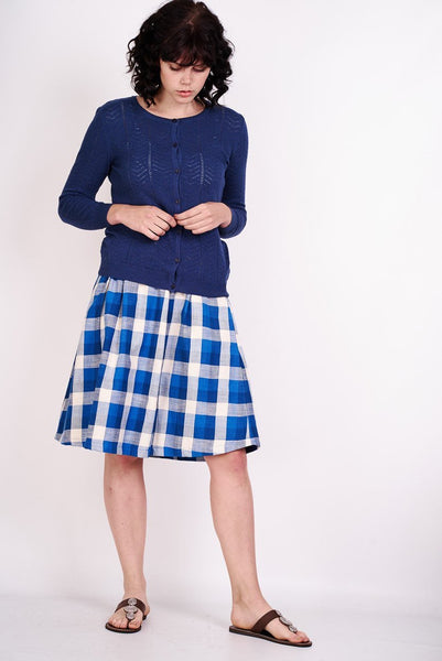 Margot Checked Skirt - BIBICO
