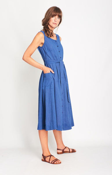 Margot Linen Casual Dress - BIBICO