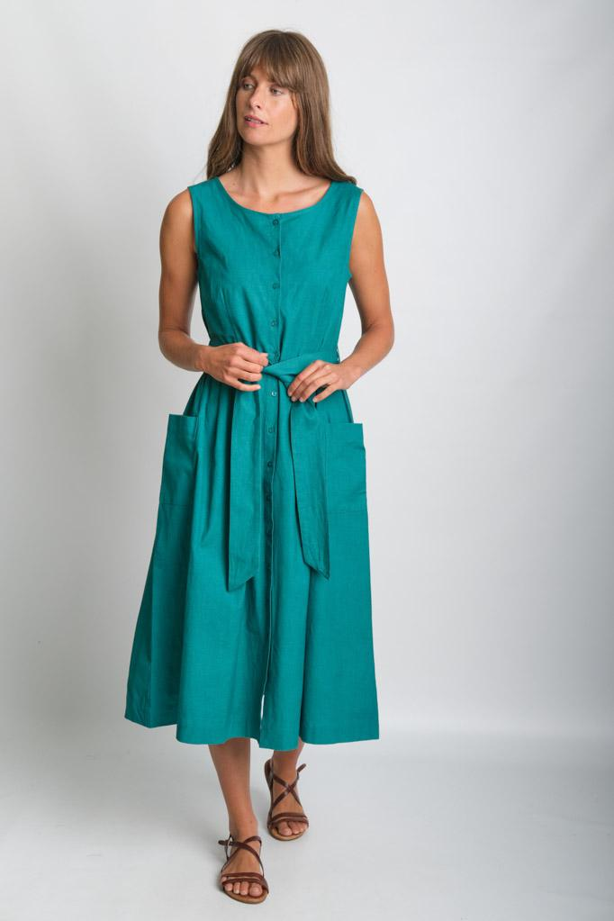 Margot Linen Dress - BIBICO