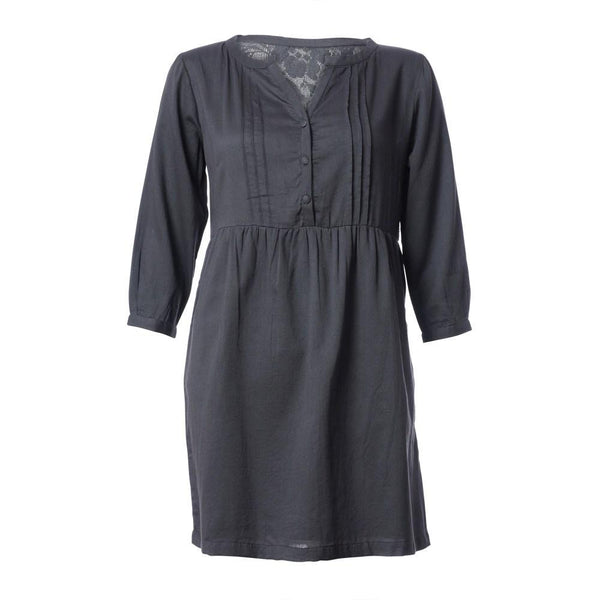 Missnet Grey Shirt Dress - BIBICO