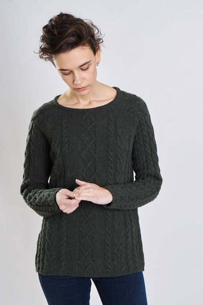 Moorland Cable Knit Jumper - BIBICO