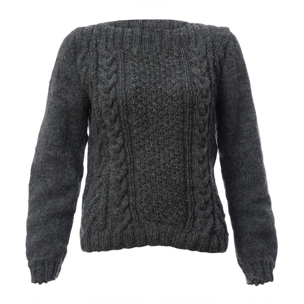 On Board Aran Knitted Jumper - BIBICO