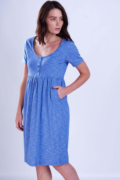 Organic Cotton Day Dress - BIBICO