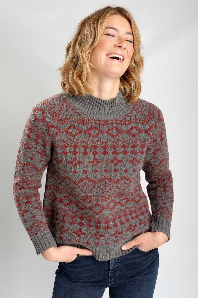 Orley Fair Isle Jumper - BIBICO