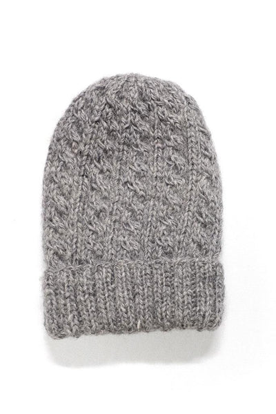 Pure Wool Aran Hat - BIBICO