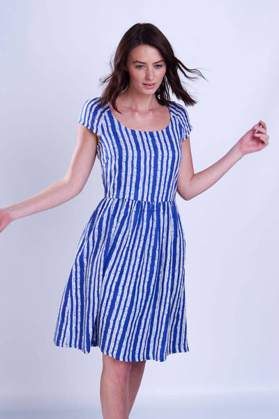 Rebecca Striped Dress - BIBICO