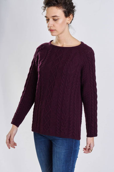 Rosie Cable Knit Sweater - BIBICO
