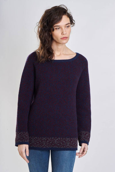 Rosie Fair Isle Wool Jumper - BIBICO