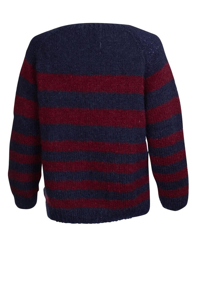 Rosie  Striped Mohair Jumper - BIBICO