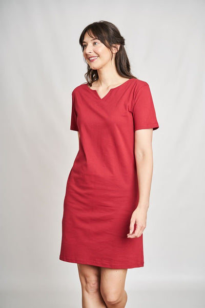 Sara Terracotta Dress - BIBICO