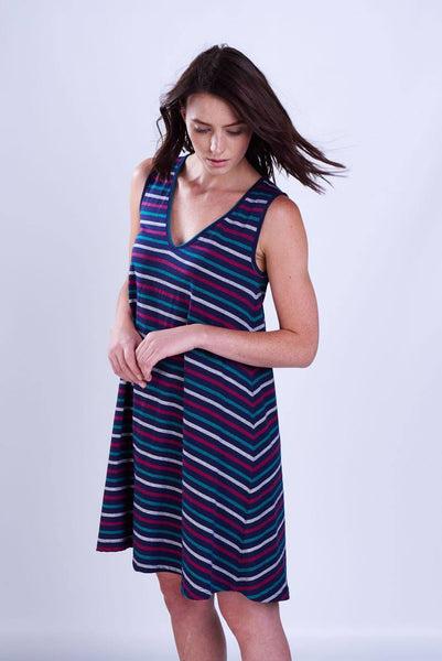 Striped Swing Tunic - BIBICO