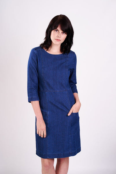 The Irby Denim Dress - BIBICO