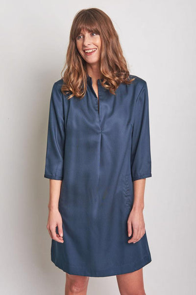 Tina Tencel Tunic Dress - BIBICO