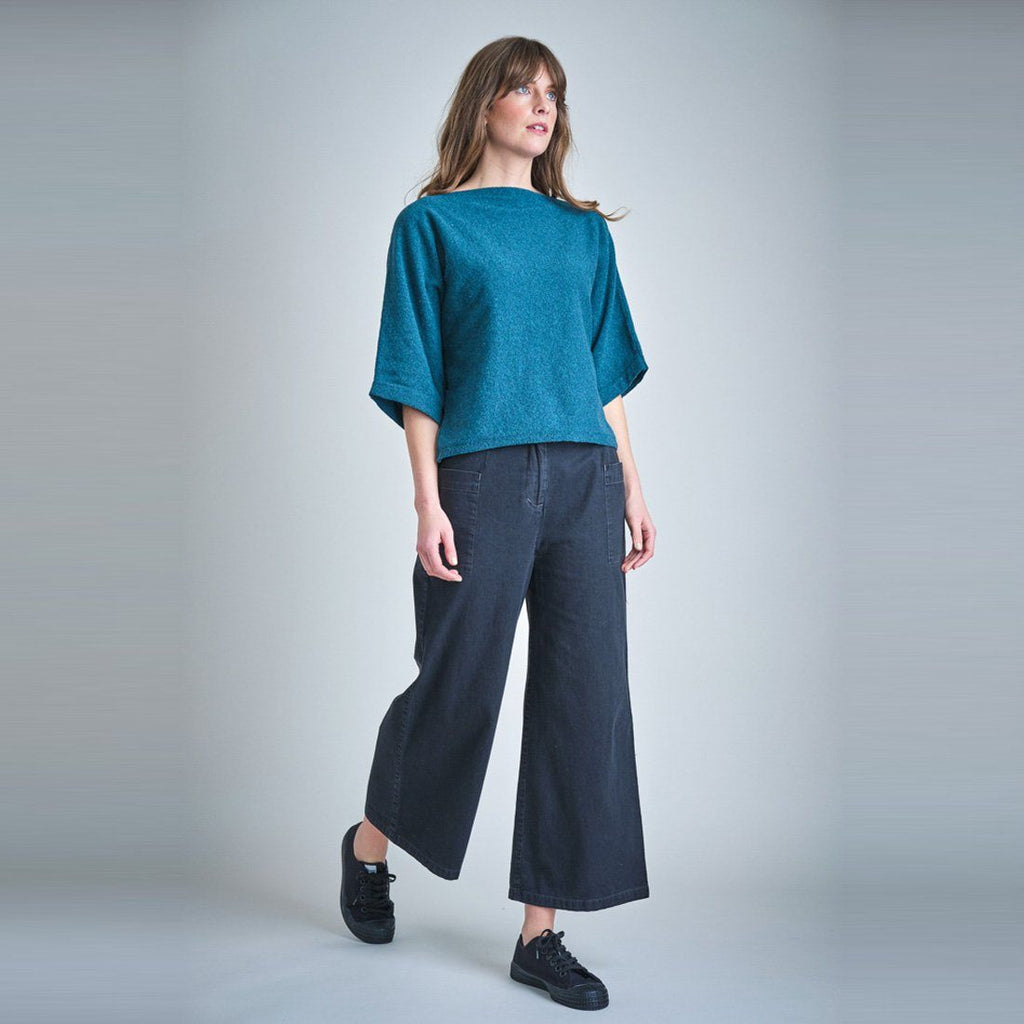 Vivian Casual Denim Culottes trousers BIBICO