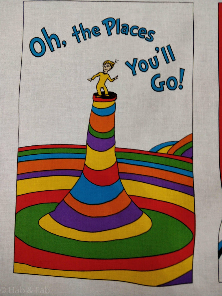 Dr Suess Patchwork Panel Hab Fab