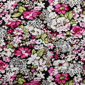 Vibrant Floral - 100% Cotton - 150cm Wide