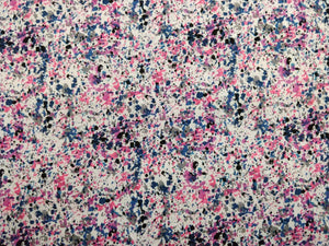 Paint Splatter Design Patchwork Fabric - 100% Cotton - 150cm Wide