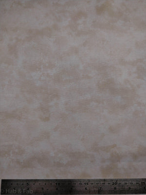 100% Cotton - Waterclouds - Beige