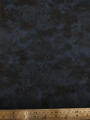 100% Cotton - Waterclouds - Navy