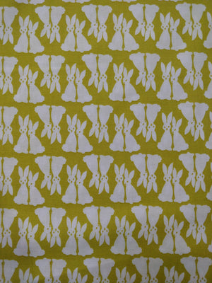 100% Cotton - Rabbits - Designed by Elizabeth Hartman